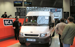 Auctions are a good place to buy and sell your van