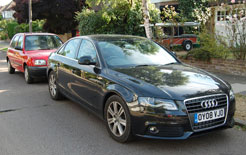 Audi A4 - top choice of car by small business owners