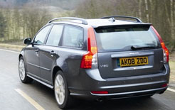 Volvo V50 recorded over 58mpg on economy run