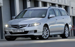 Honda Accord Tourer Sport road test report