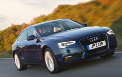 New, more efficient TDIe diesel engines have been added to the Audi A5 Sportback (pictured) and Audi A5 Coupe ranges, along with SE Technik specification for £1000 premium over the SE grade