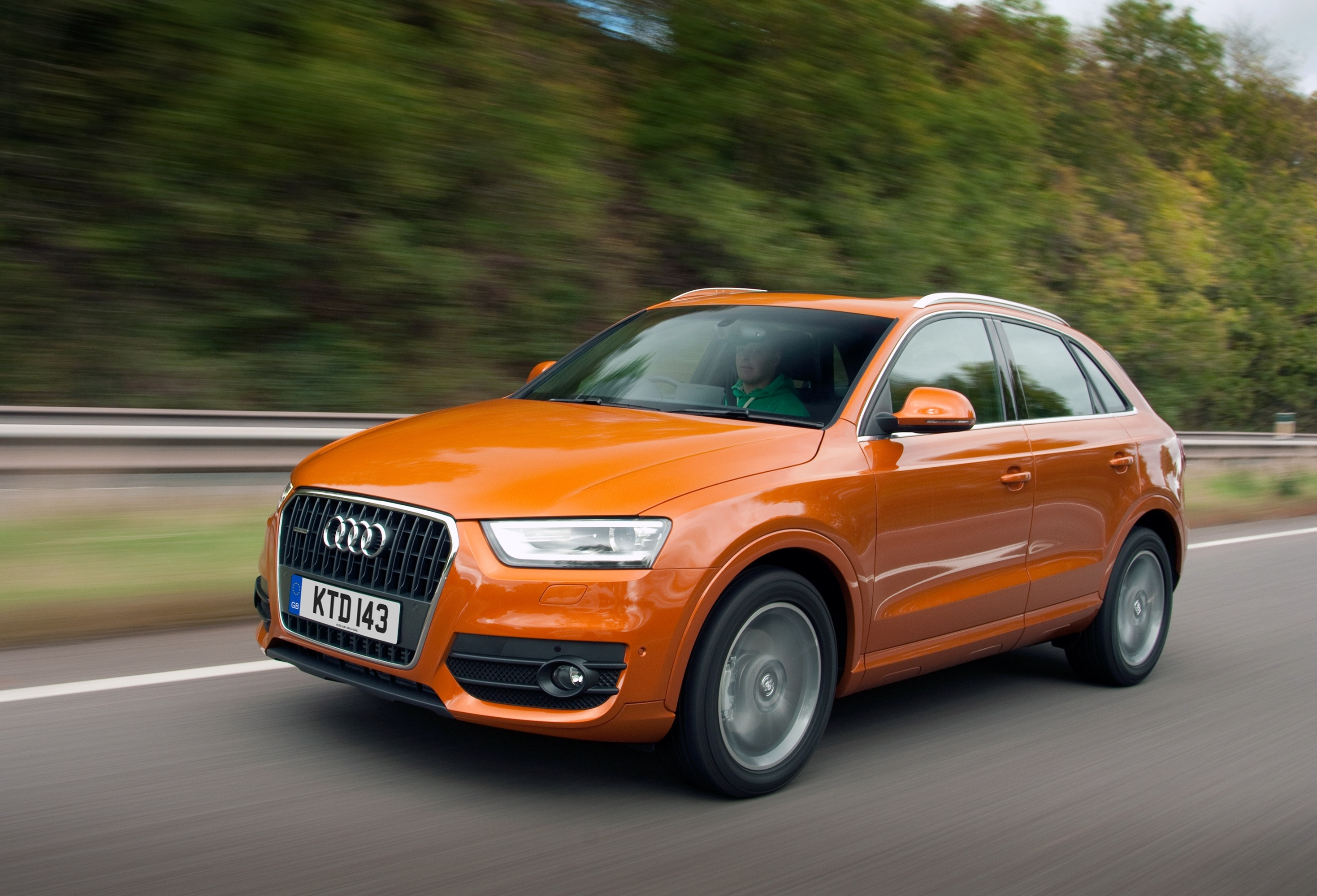 Audi Q3 compact SUV was awarded five stars by the safety assessment Euro NCAP programme in the 'Small Off-Road 4x4' category