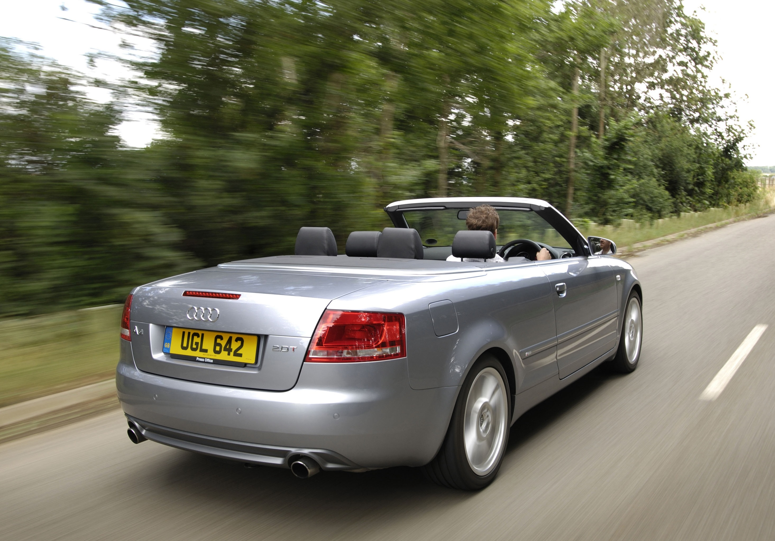 Audi A4 Cabriolet is one of many cabriolet models seeing residual values rise during February 2012