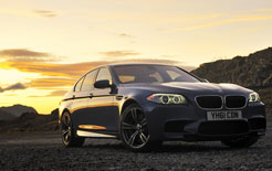 New 2012 BMW M5 V8 road test business car review