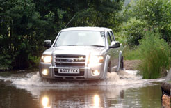 Ford Ranger Thunder double cab road test report