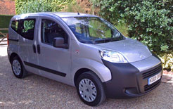 Citroen Nemo Multispace front three quarters