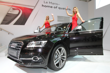 Audi SQ5 TDI launch at Le Mans