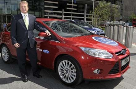 Mark Ovenden - managing director of Ford