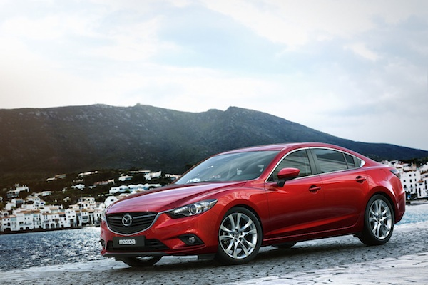 Mazda6 MY13 front