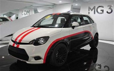Rover MG3 Chinese show
