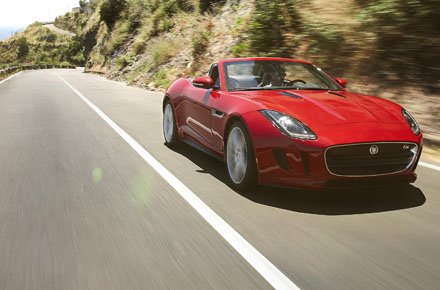New Jaguar F-Type V8 S