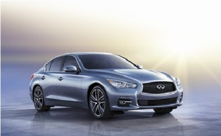 Infiniti Q50 front view
