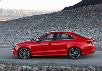 The Audi S3 saloon
