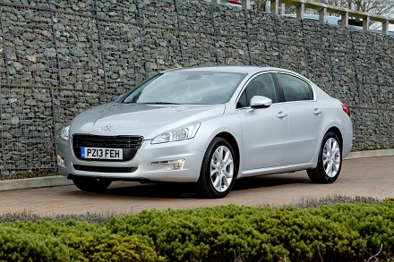 The Peugeot 508 saloon