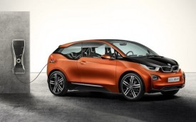 BMW i3 coupe electric car