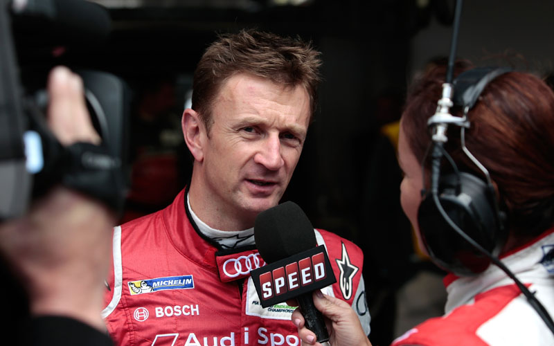 Allan McNish at Le Mans 2013
