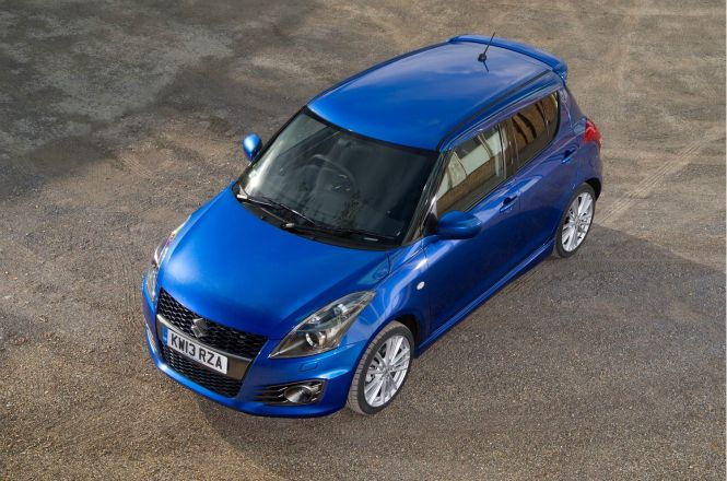 THe Suzuki Swift Sport five door