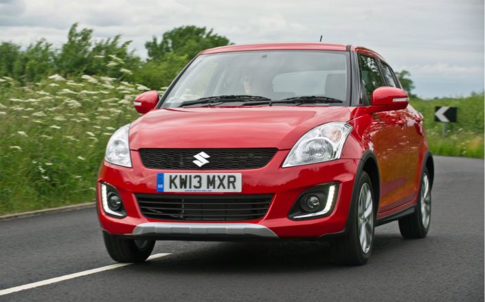 The Suzuki Swift 4x4
