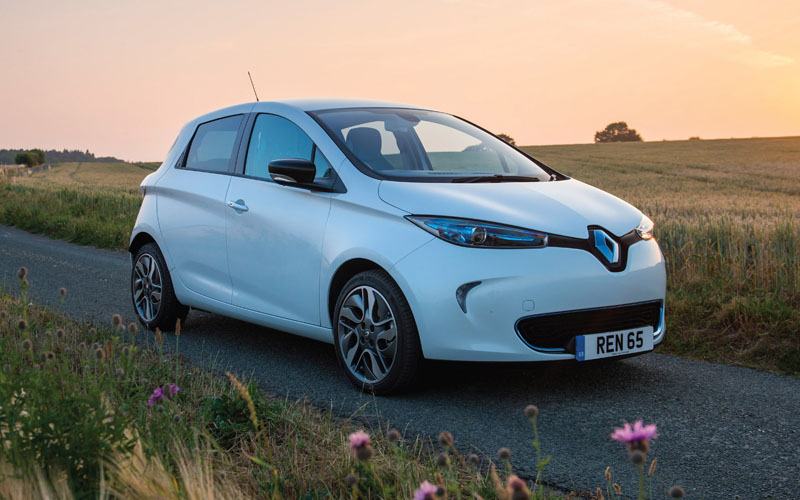 Renault Zoe electric car company car tax