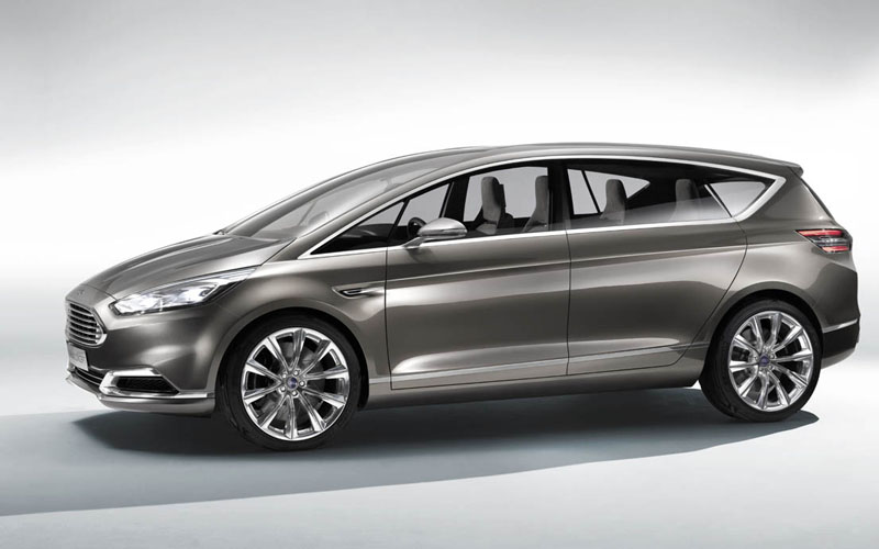 Ford S-MAX Concept side profile