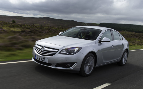 Vauxhall Insignia review action