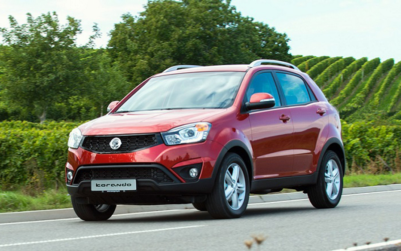 1295_SsangYong freshens up the Korando for 2014