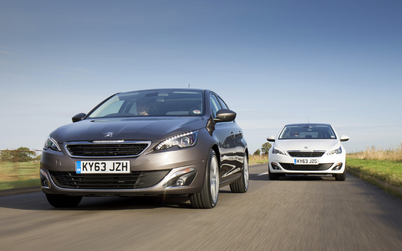 New PEUGEOT 308 Feline twin car tracking 154