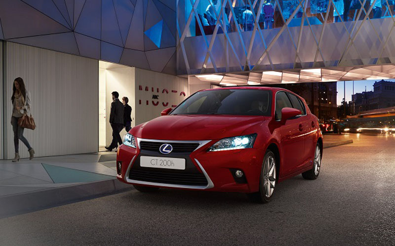 Lower prices for improved 2014 Lexus CT 200h