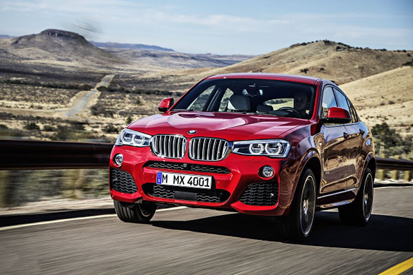 BMW X4 the new sporty SUV