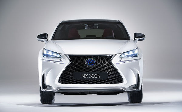 Lexus enters the mid sized crossover market with the NX
