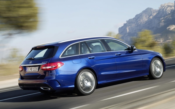 New Mercedes C-Class Estate: more space, more luxury, less fuel