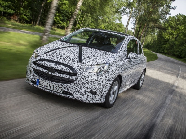 Disguised Opel Corsa testing