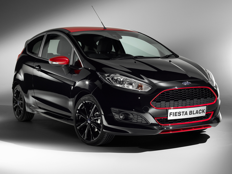 Ford Fiesta Black 800