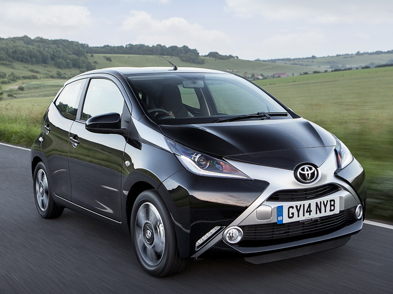 Toyota, Aygo, front