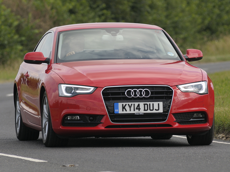 Audi A5 Ultra front 800