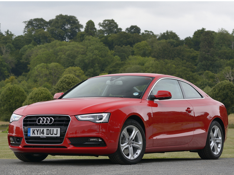 Audi, A5, Ultra, front