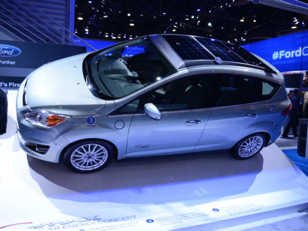 Ford, C-Max, energie, solar, power