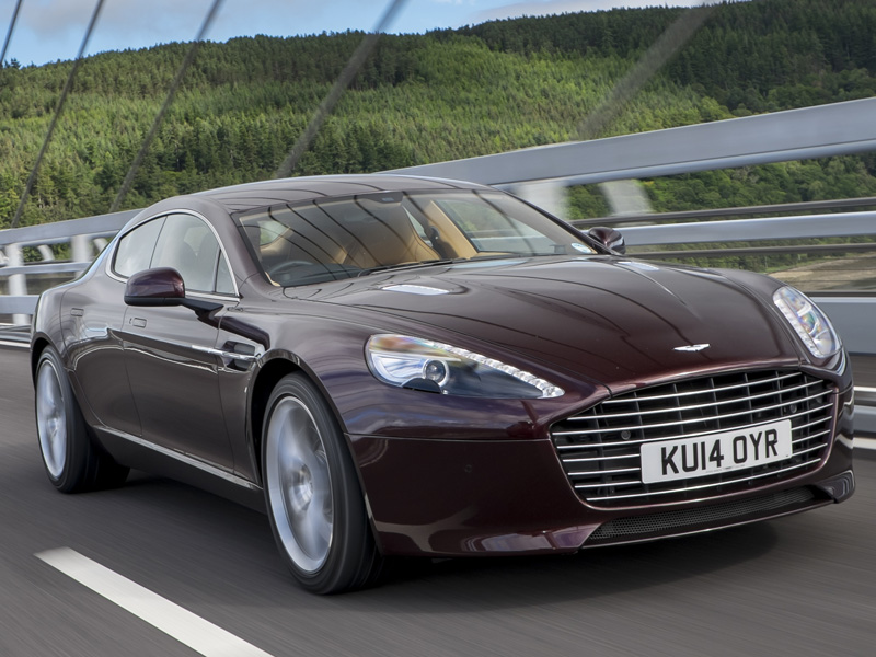 Aston, Martin, Rapide, S, at , speed