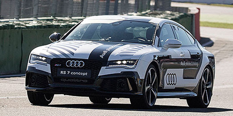 Audi RS7 driverless cars