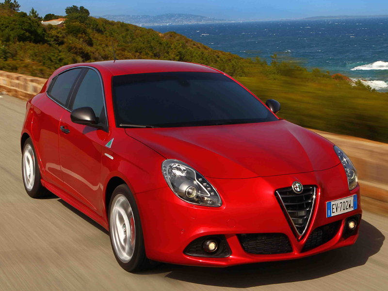 Alfa, Romeo, Giulietta, moving