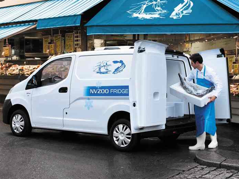 Nissan, NV200, fridge, conversion