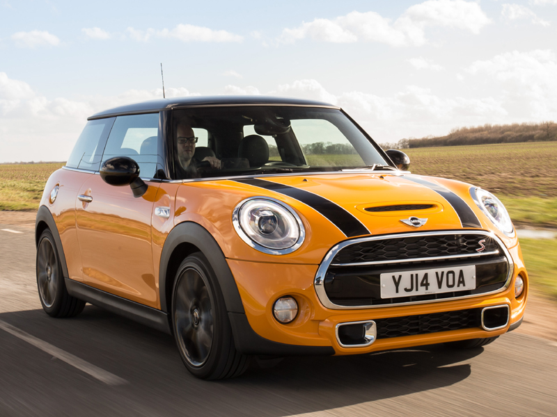MINI, Cooper, S, front, at, speed