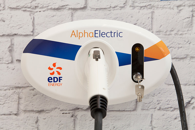 EDF charging points - AlphaElectric