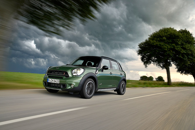 MINI Countryman Cooper D Business action header