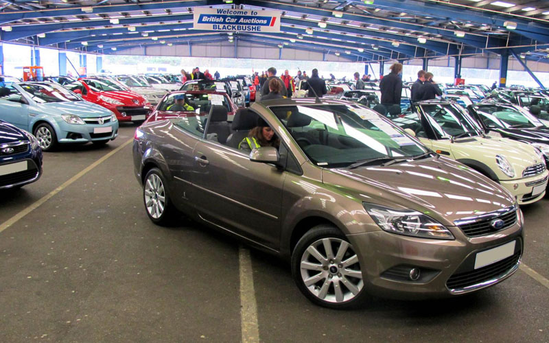 Convertibles at auction