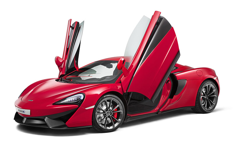 McLAREN has unveiled it's 'cheapest' model to date in the shape of the new 540C Coupé,