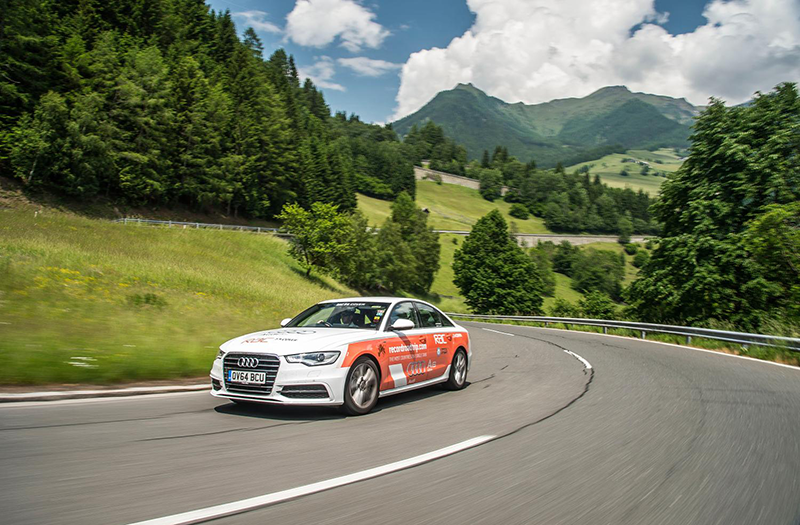 Audi A6 TDI ultra Guinness Book of Records