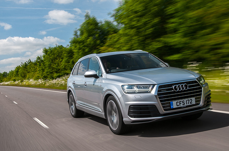 Audi Q7 3.0 TDI SE review 2