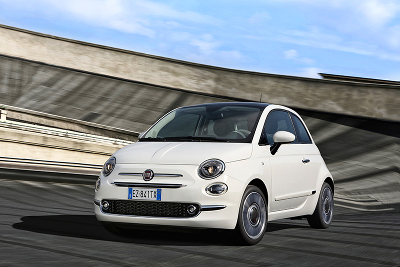 Fiat 500 0.9 TwinAir 105hp Lounge review2