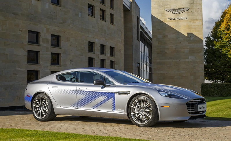 Aston Martin RapidE concept electric supercar